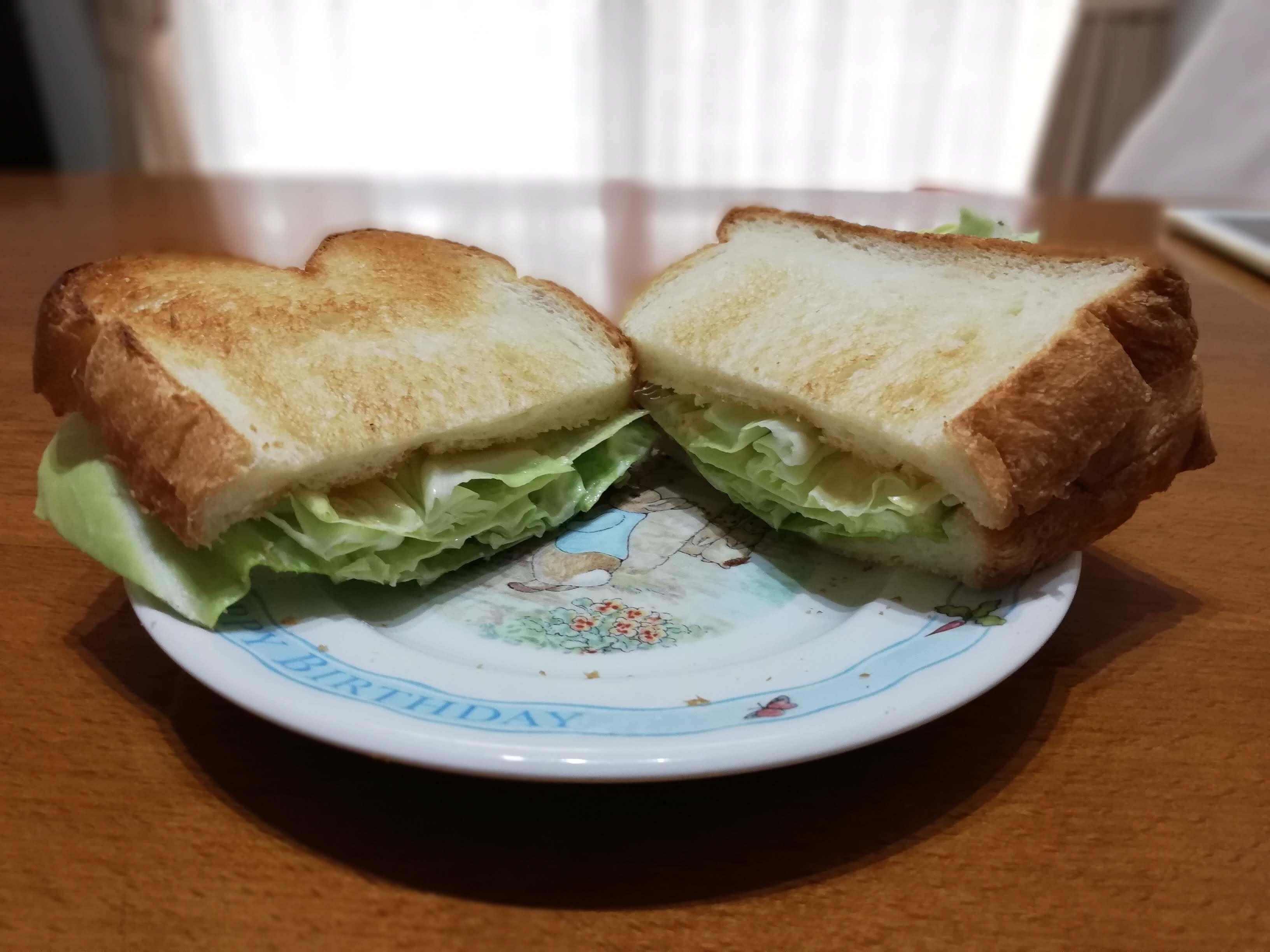 キャベツサンドイッチ