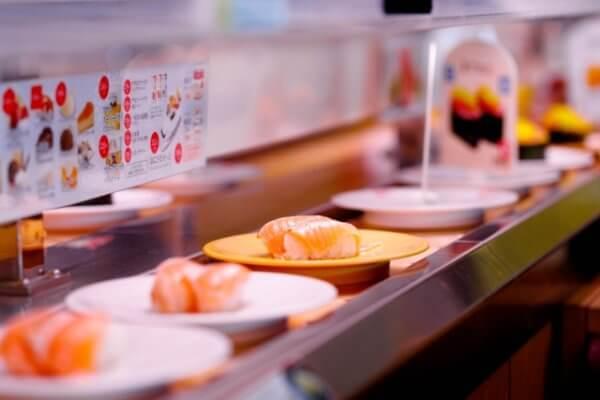 ウーバーイーツのスシローやその他寿司